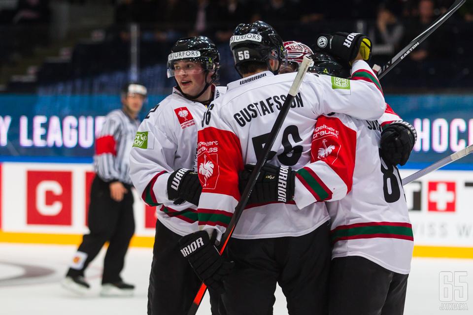 Kristian Vesalaisen edustama Frölunda on tuttu näky Champions Hockey Leaguessa.