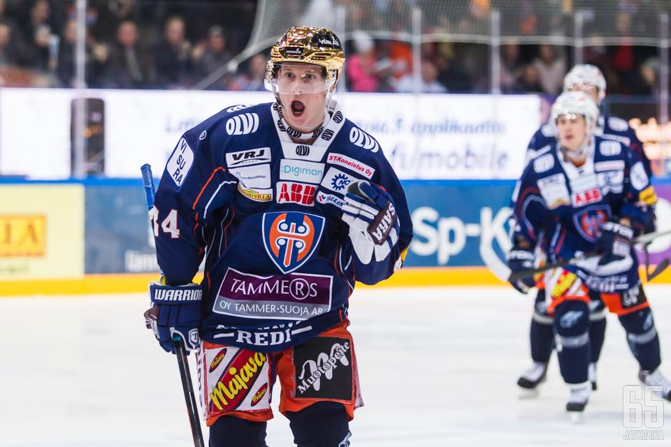 Olli Palolan ura jatkuu KHL:ssä.