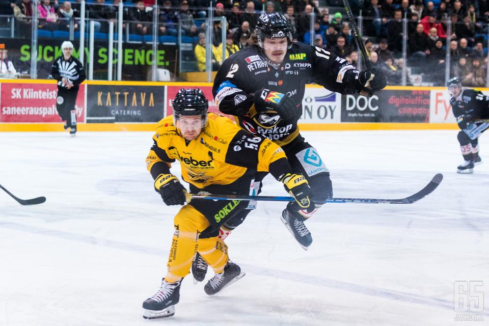Ville Leskisen viime kaudella alkanut lentokeli jatkuu tällä kaudella.