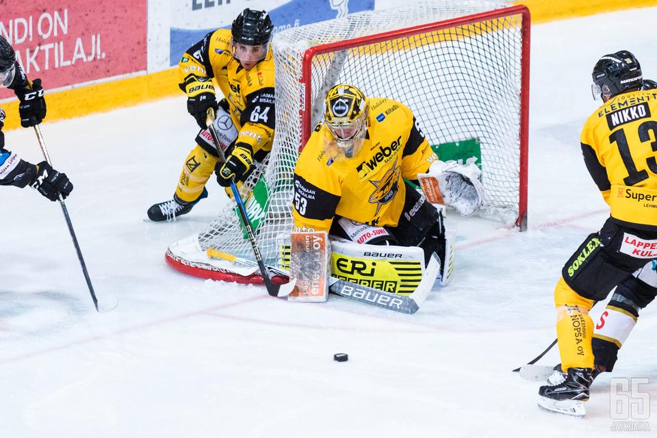Westerholm teki Liiga-debyyttinsä viime vuoden lokakuussa.