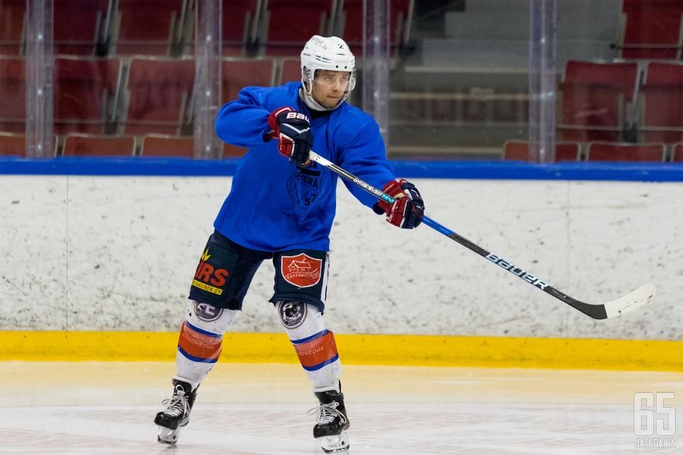 Mikko Kettunen haluaa nähdä, mihin Ketterän toiminta kehittyy tulevaisuudessa.