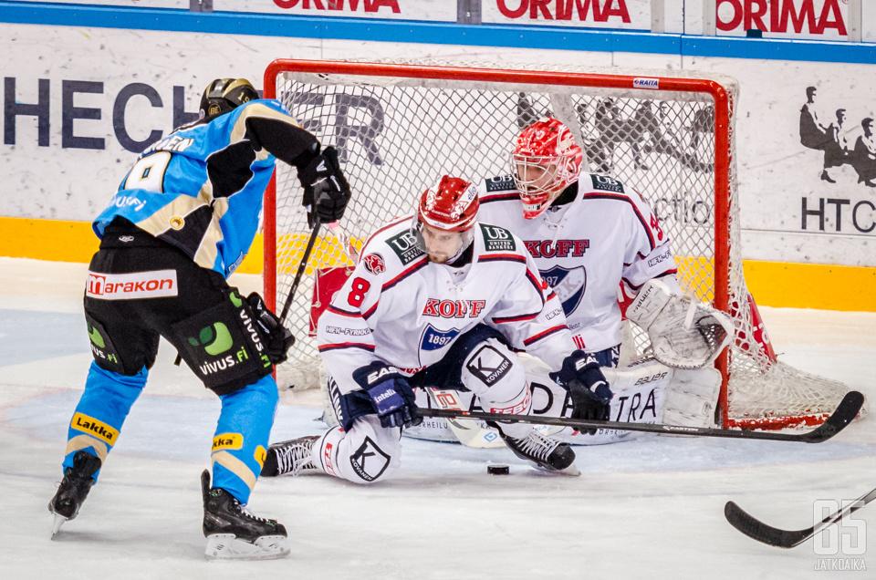 Daniel Grillfors puolustaa HIFK:n riveissä myös ensi kaudella.
