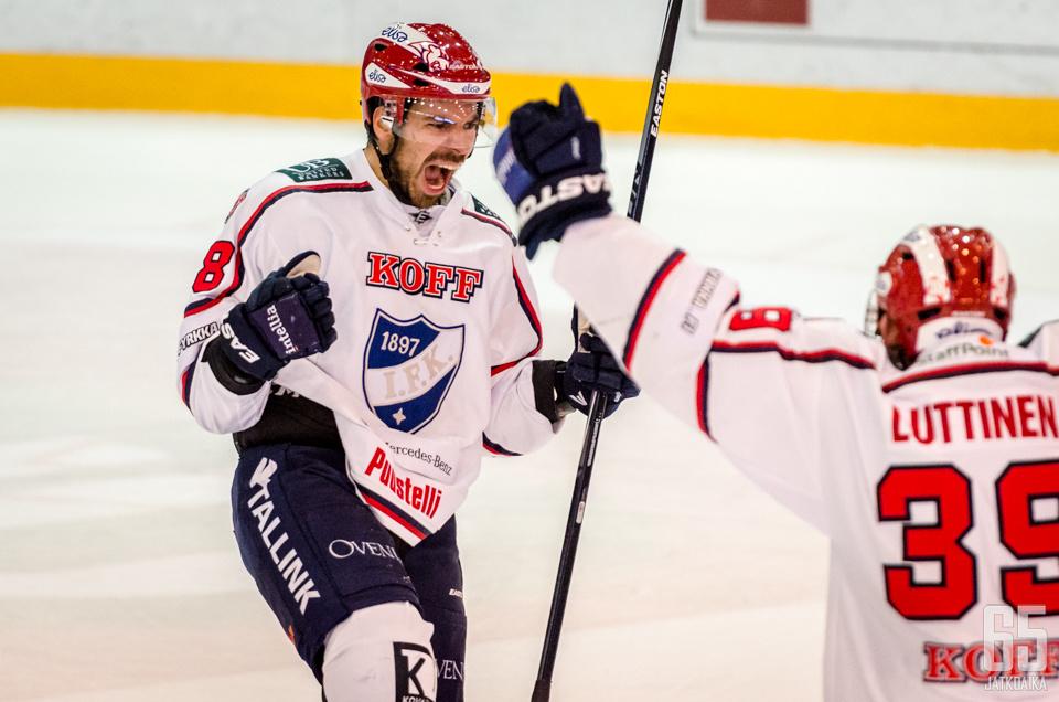 Pikkarainen edusti päättyneellä kaudella HIFK:ta.