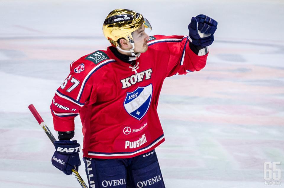Zaborsky on HIFK:n tehokkain pistemies.