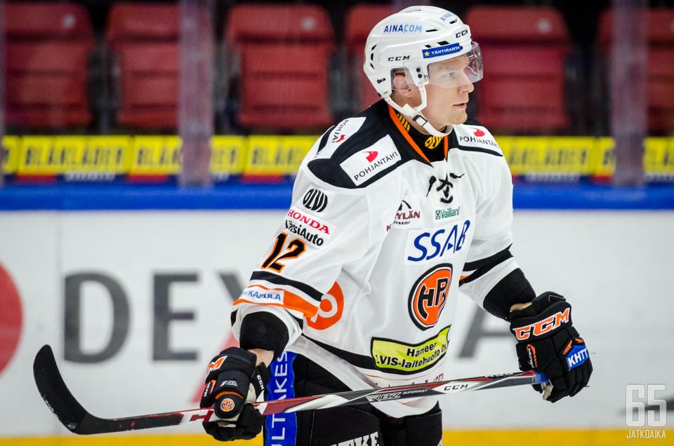 Juha Koivisto oli lauantaipelin näkyvin hahmo.