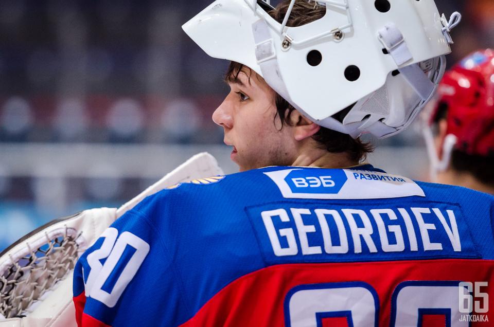 Georgiev on pelannut myös Venäjän maajoukkueessa.