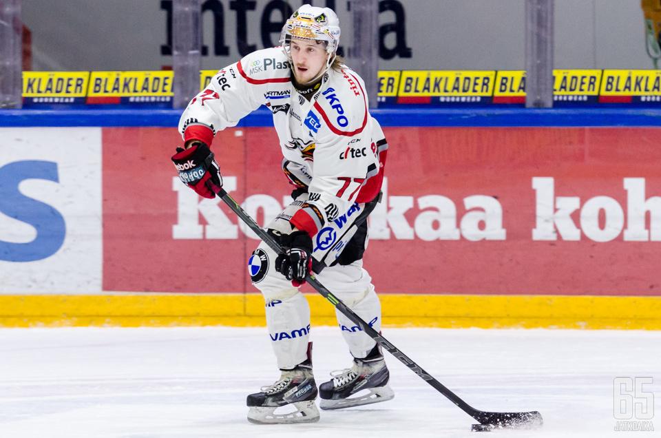 Peltola kiekkoilee ensi kaudella Porissa.