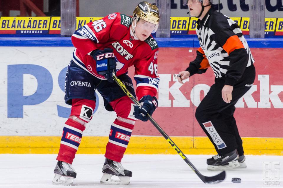 Ramstedtin pelit KHL:ssä jatkuvat.