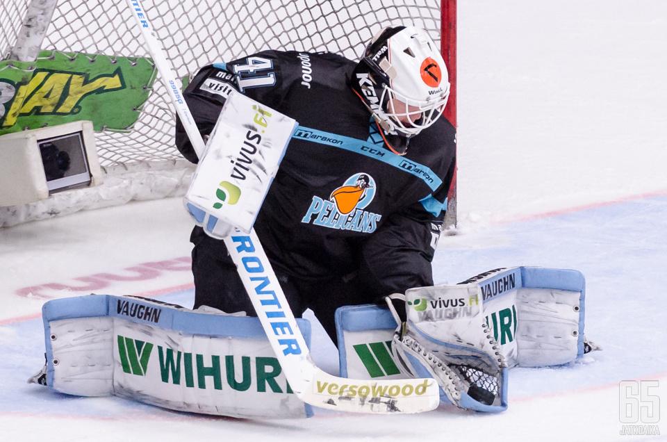 Janne Juvonen metsästää loppukevään pelipaikkaa Milwaukee Admiralsista.