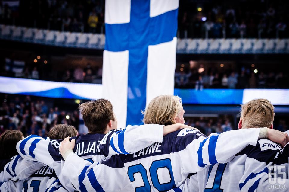 HELSINKI, FINLAND 2016-01-05 World Junior Championships 2016: Russia U20 - Finland U20 at Hartwall Arena in Helsinki, Finland. (Photo: Riku Laukkanen/R1ku Exposures)