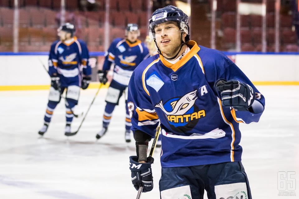 Pekka Niemimaa valittiin odotetusti kapteeniksi.