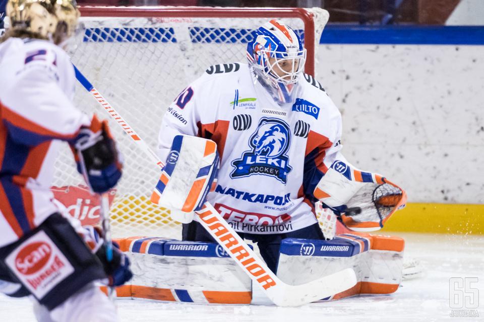 Christian Heljanko oli avainroolissa LeKin vierasvoitossa.