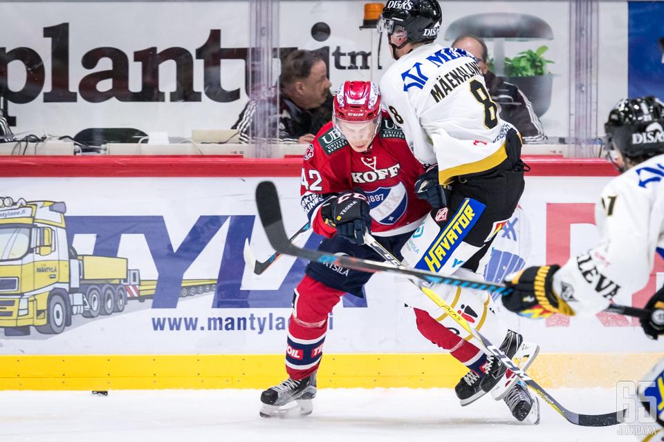 Kärppien pysäyttäminen Kaisaniemessä on HIFK:n seuraava haaste.