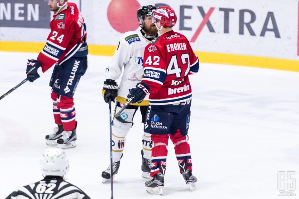 Kärpät ja HIFK ovat perjantaina jälleen haastohommissa.