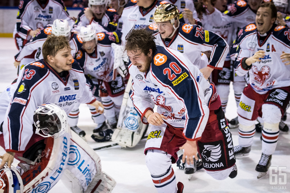 Tanus ratkaisi mestaruuden SaPKolle.