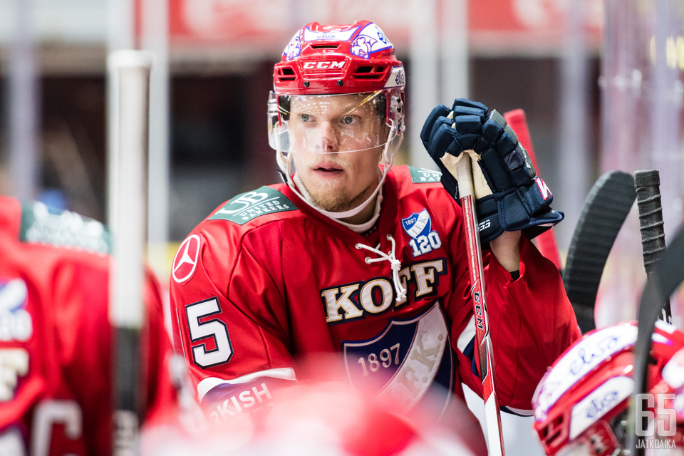 Vili Sopasesta odotetaan HIFK:ssa tuloksentekijää.