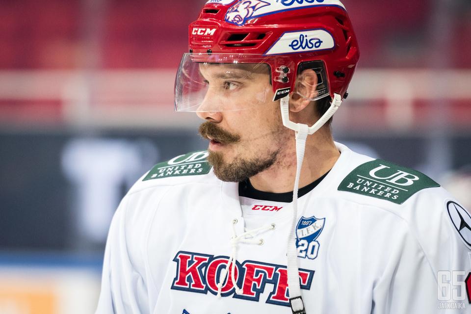 Teemu Laakso tuli koeajalle HIFK:hon.