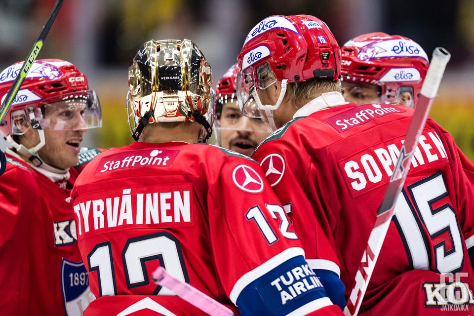 HIFK:lla on Liigan tehokkain ylivoima.