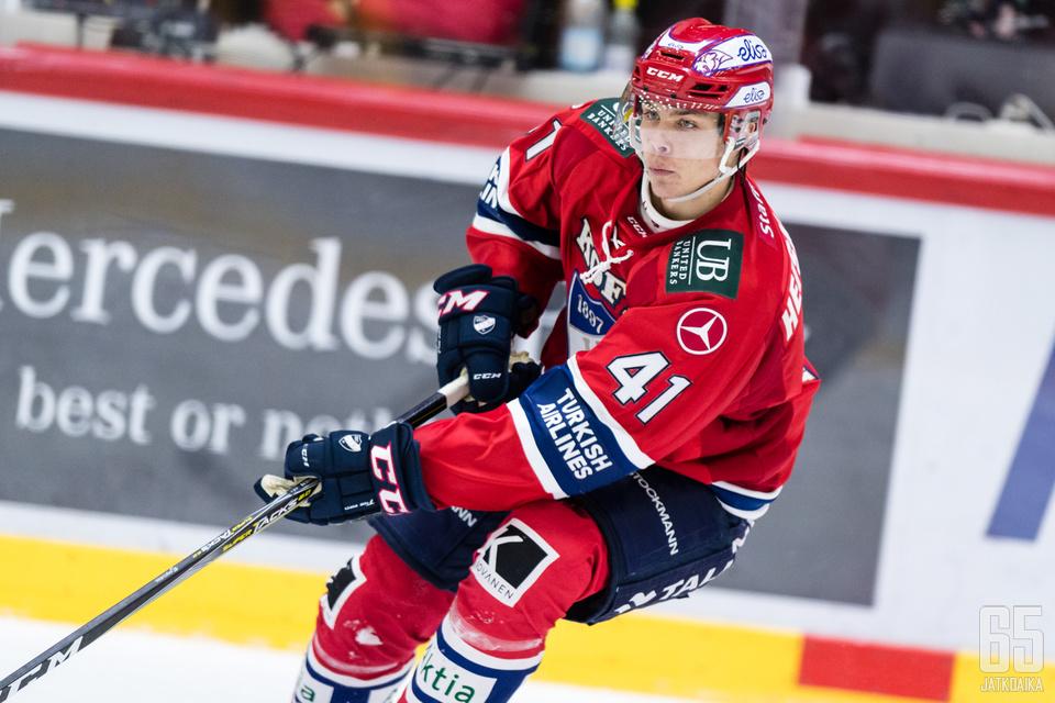 HIFK-puolustuksen kirkkaimman tähden, Miro Heiskasen, tulee pysyä kunnossa, mikäli HIFK hamuaa menestystä keväällä.