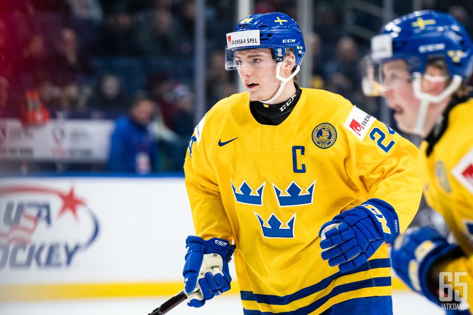 Lias Andersson ei näyttänyt kapteenimaista esimerkkiä.