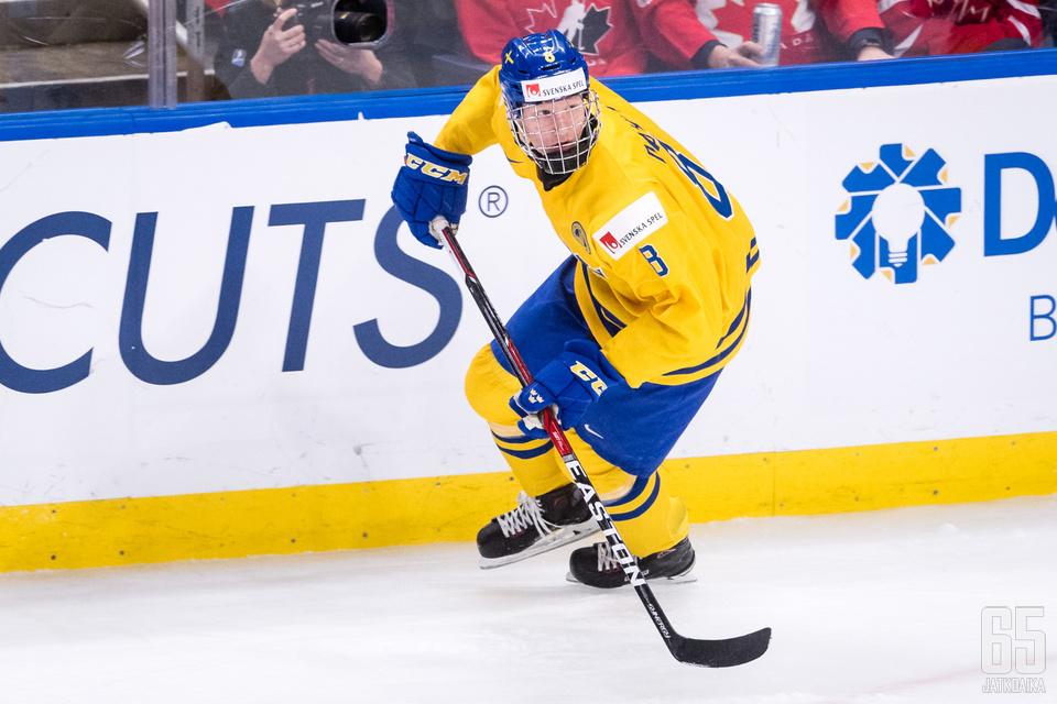 Buffalo Sabres käytti ykkösvarauksensa Rasmus Dahliniin.