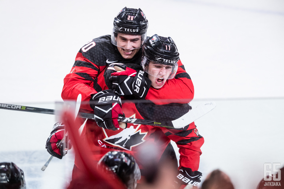 Tyler Steenbergen ratkaisi ottelun Kanadalle.