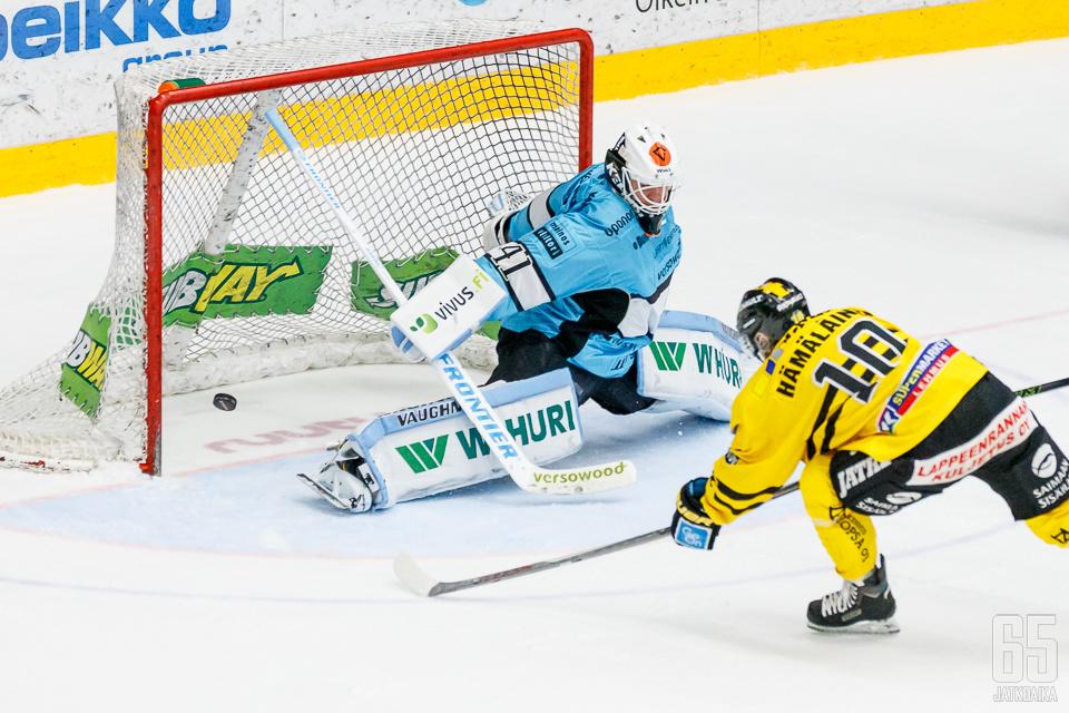 Tämä Ville Hämäläisen tekemä maali käänsi ottelun suunnan.