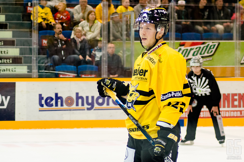 Kim Strömberg pelaa ensimmäistä kauttaan SaiPassa.