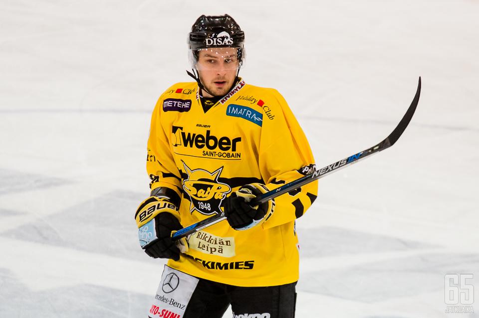 Koskiranta edusti SaiPaa koko viime kauden.