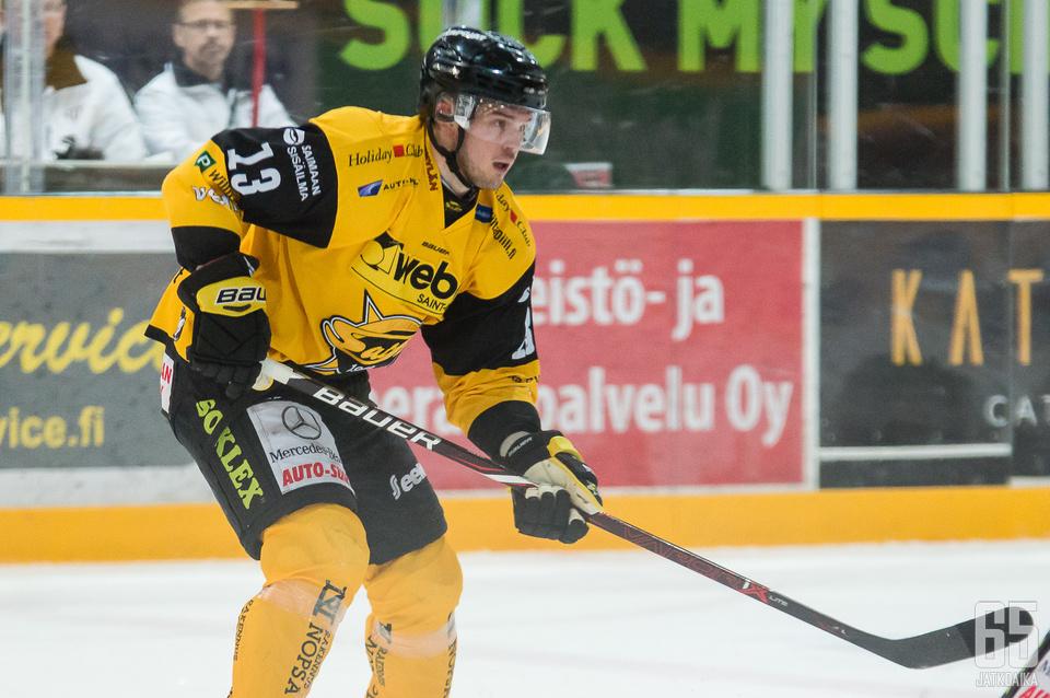 Joni Nikko iski SaiPan kaksi ensimmäistä maalia.