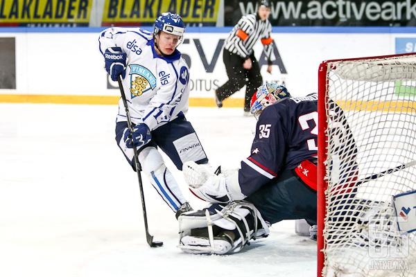 Miro Aaltonen oli ottelun hahmo iskemällä kaksi maalia.