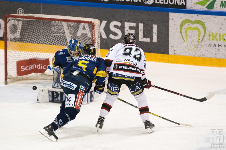 Ässät ja Jukurit osallistuivat tällä kaudella tyhjennysmyynteihin.