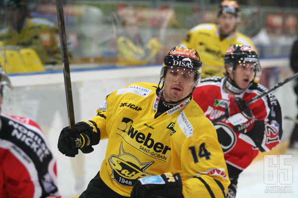 SaiPan puolustaja Rony Ahonen on joutunut pitkälle sairauslomalle.