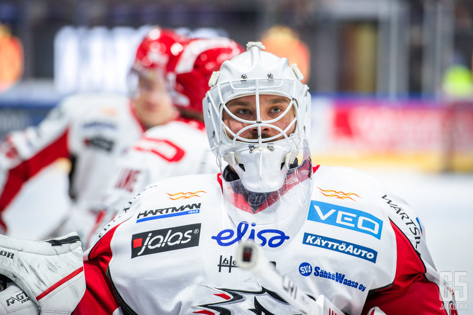 Mika Järvinen edusti vielä alkusyksyllä 2019 Vaasan Sportia.