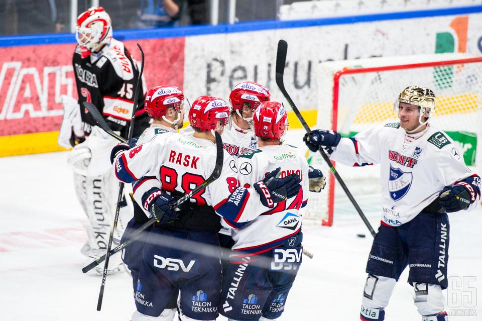 HIFK vei voiton kauden avauksesta Jyväskylästä.