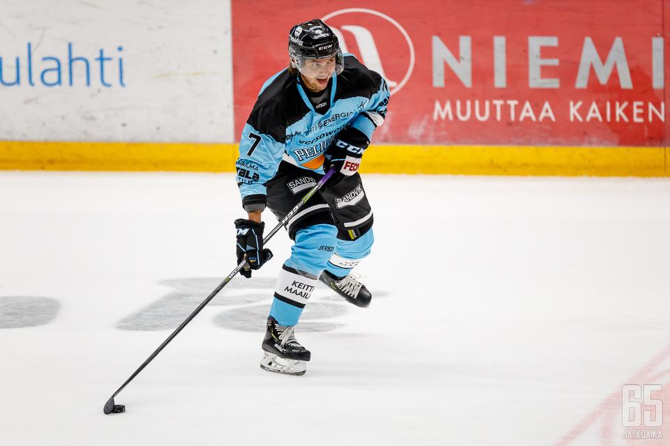 Oliwer Kaski pelasi tehokkaan tammikuun.