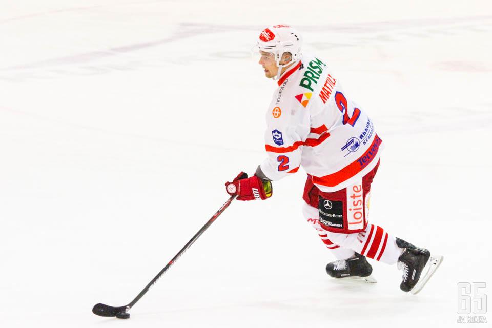 Risto Mattila palaa Hokin kokoonpanoon. Mies ratkaisi myös joukkueiden edellisen kohtaamisen maalillaan.