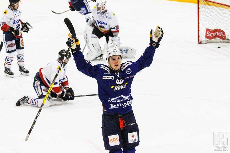 Jarkko Harjula oli yksi RoKin onnistujista.