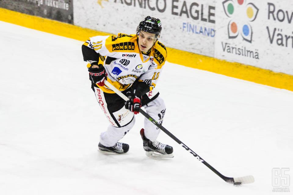 Pälve pelasi viime kauden Iisalmessa.