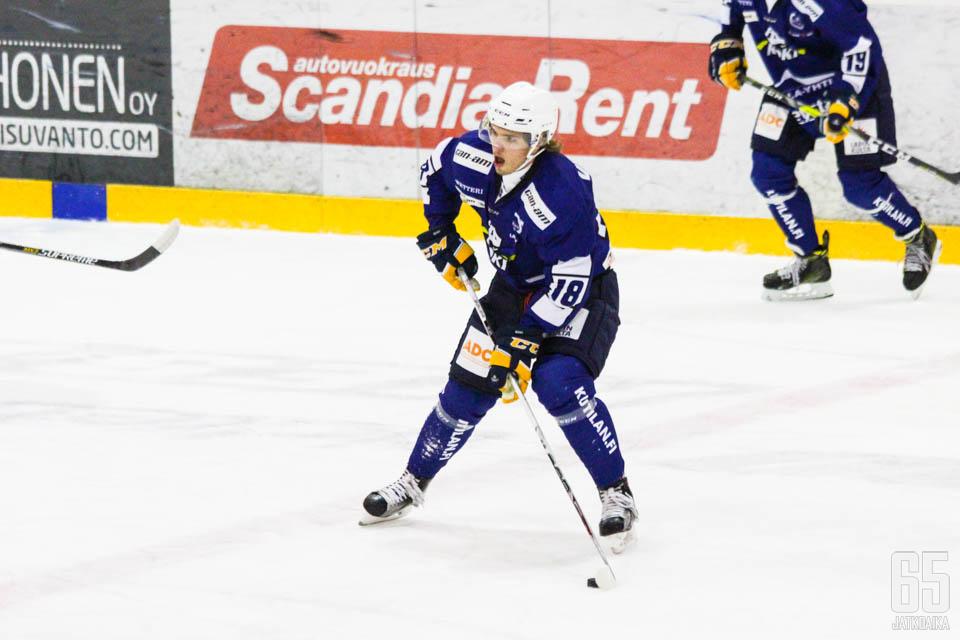 Vesely ei saanut jatkoa Rovaniemelle.