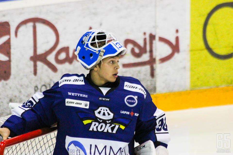 22-vuotias lappeenrantalainen Paavo Hölsä pelaa toista kauttaan Rovaniemellä.