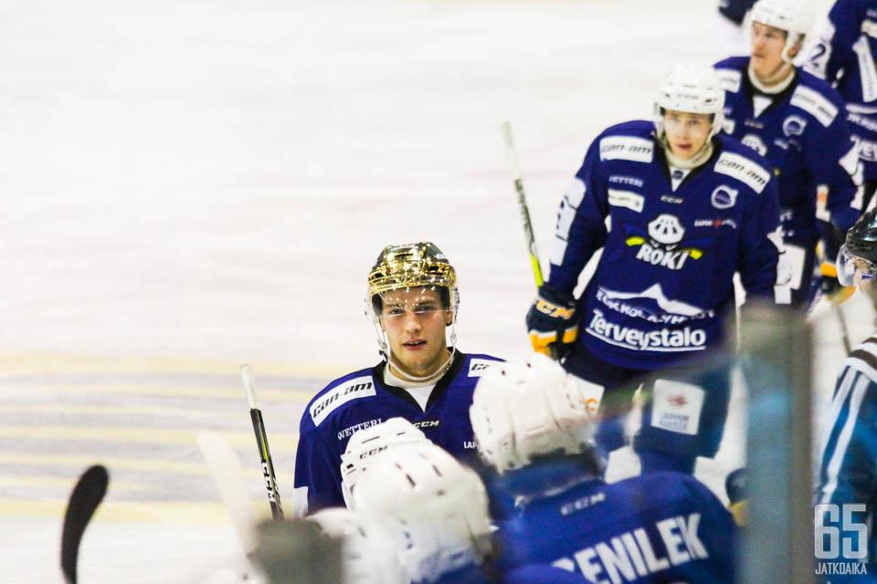 Juhani Tamminen on joukkueensa syöttömestari 23:lla maaliin johtaneella syötöllään.