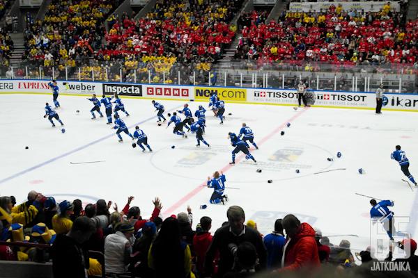 Suomi on nuorten maailmanmestari 2014.