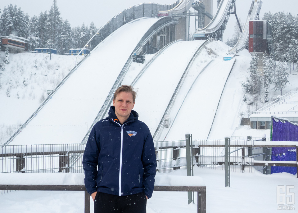 Pelicansin fysiikkavalmentaja Tommi Pärmäkoski työpaikallaan Lahden urheilukeskuksessa