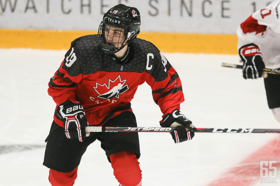 Peyton Krebsin pelinumero on tuttu monen johtavan kanadalaiskiekkoilijan paidasta.