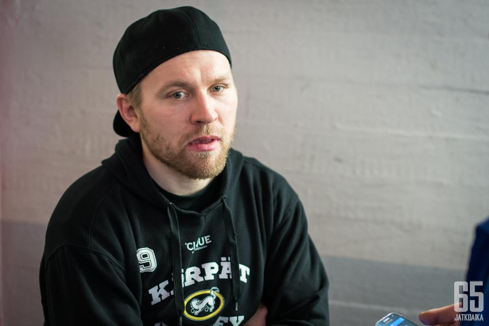 Juho Keränen on repinyt ja raastanut Oulussa pitkään.
