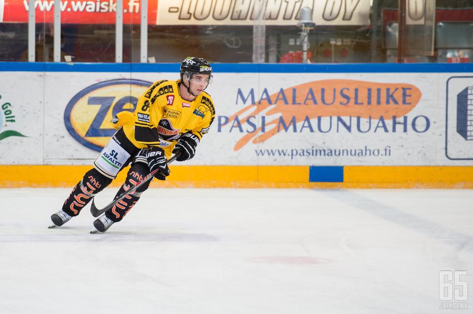 Junnila pelaa loppukauden Kuopiossa.