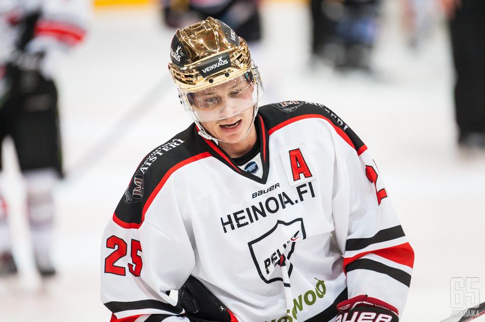 Jesse Häkkinen on ollut tehokas Mestiksessä.