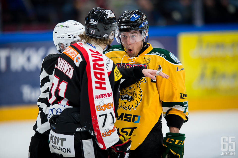 Ilves yrittää yllättää JYPin kotikentällään. Nähtäväksi jää, ovatko keinot Tapio Laakson viritysten luokkaa.