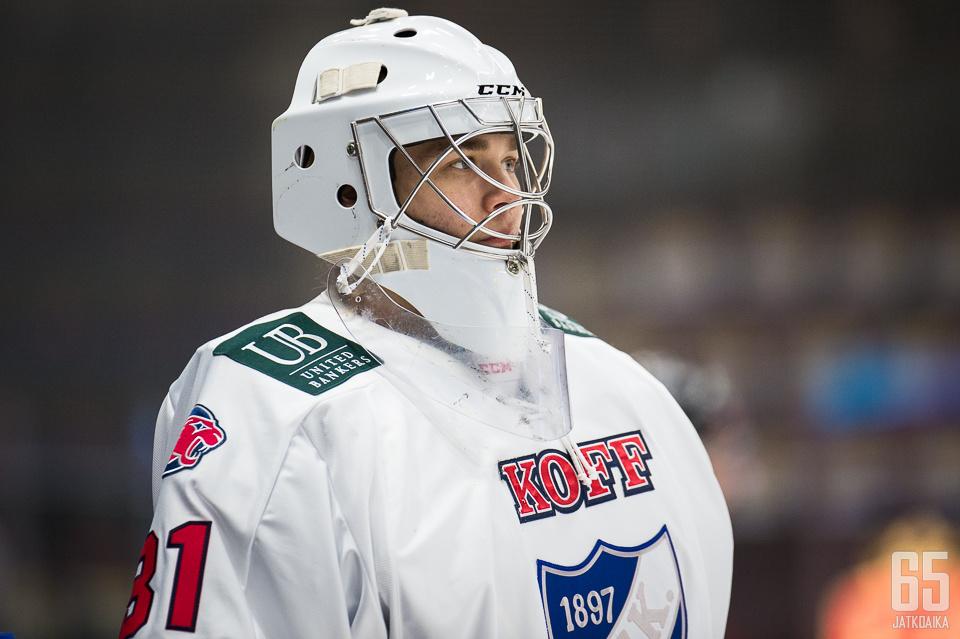 Niilo Halonen oli joukkueensa kantava voima.